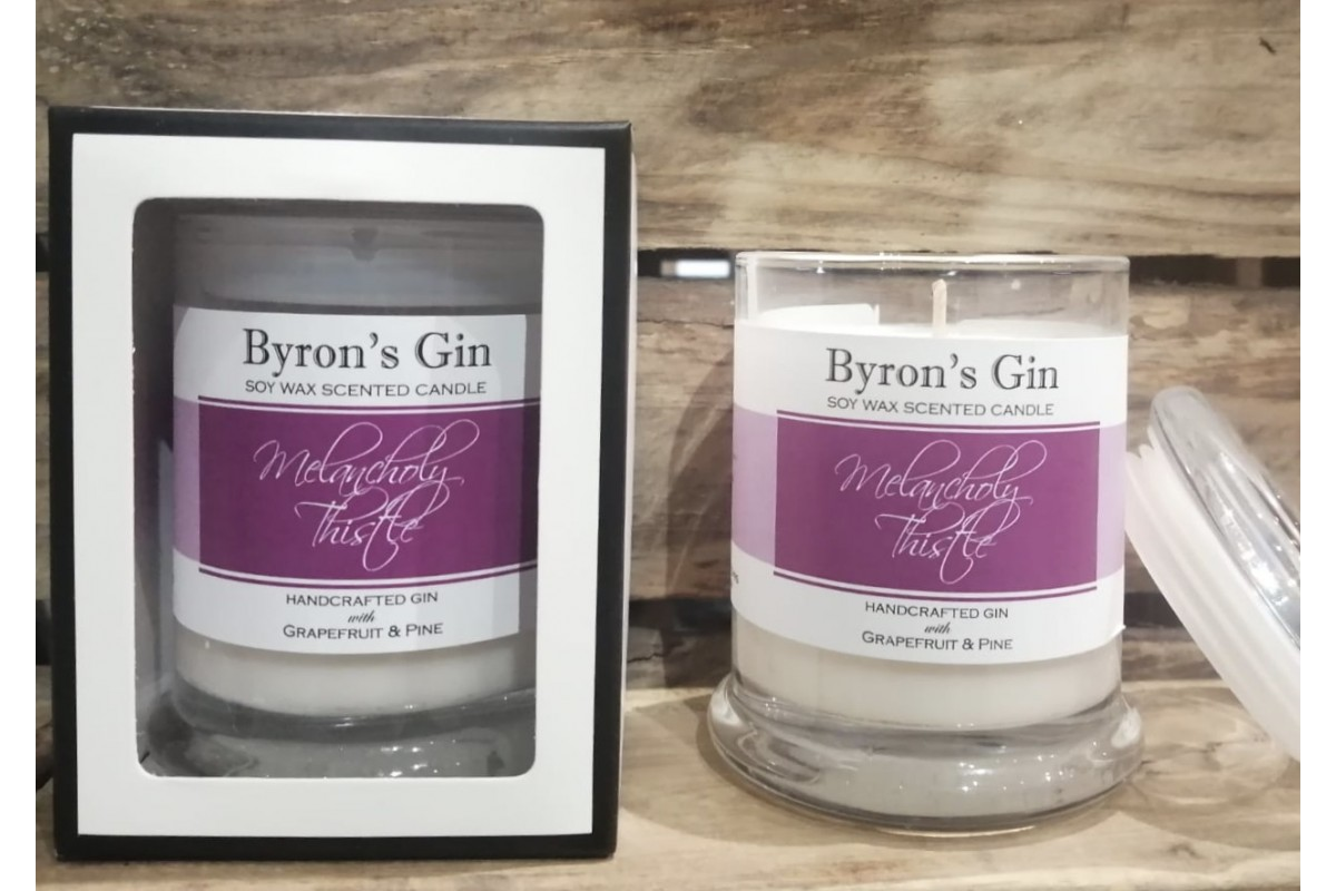 Melancholy Thistle Soy Candle