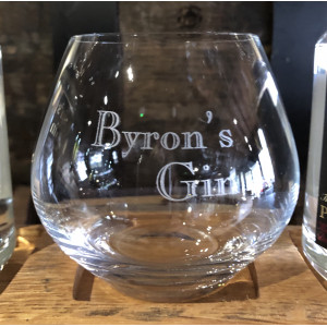 BYRON'S GIN Glass