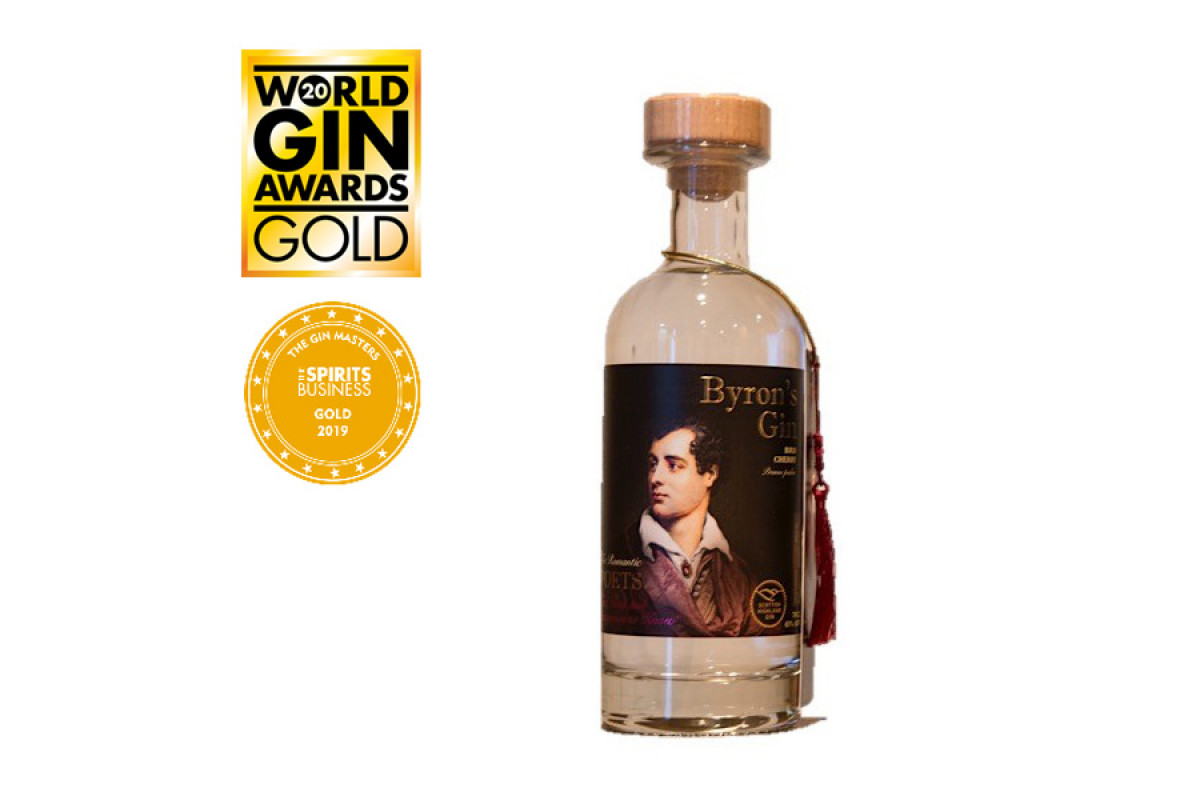 Byron's Gin Bird Cherry 70cl