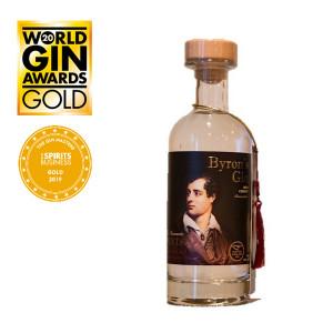 Byron's Gin Bird Cherry 20cl