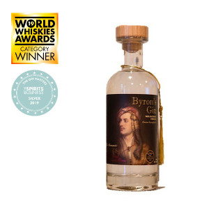 Byron's Gin Melancholy Thistle 70cl