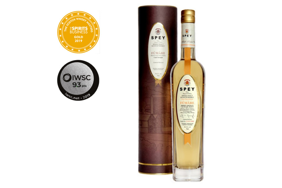 SPEY Cask Strength Fumare 70cl BATCH 3 2021 release